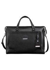 Tumi 'Astor Regis - Slim' Zip Top Italian Leather Briefcase (16 Inch)