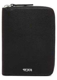 Tumi Belden Leather Zip Passport Case