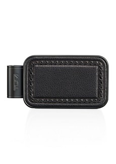 Tumi Nassau Monogram Patch Money Clip