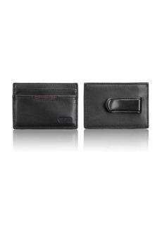 Tumi Delta Money Clip Card Case
