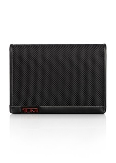 Tumi Alpha Gusseted Card Case With ID