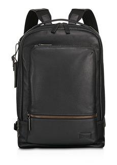 Tumi Harrison Leather Bates Backpack