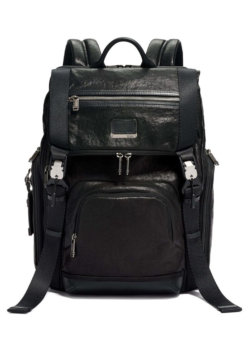 Tumi Lark Leather Backpack