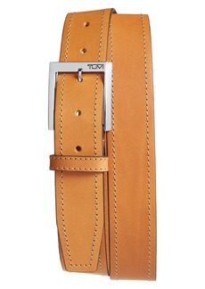 Tumi Leather Belt