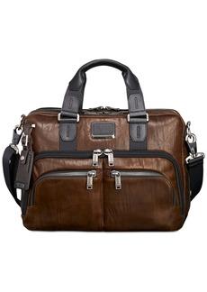 Tumi Men's Alpha Bravo Albany Slim Leather Briefcase