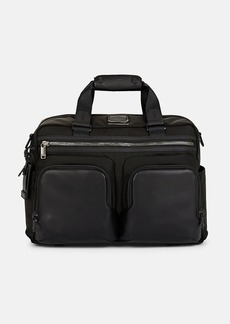 Tumi Men's Alpha Bravo Hunter Satchel - Black