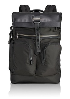 Tumi Men's Alpha Bravo London Roll-top Backpack