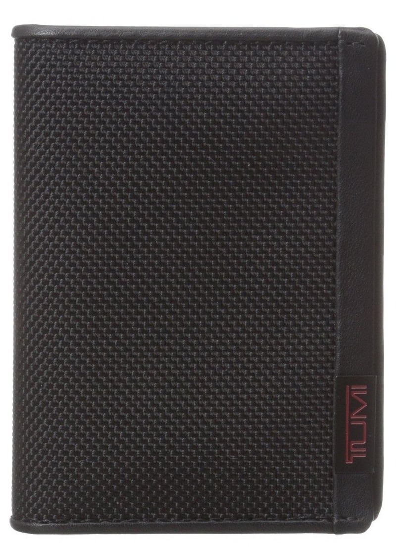 low priced 5c226 c70ab Men's Alpha ID Lock Gusseted Card Case Wallet OneSize