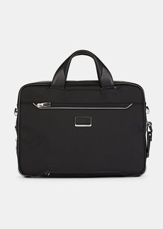 Tumi Men's Arrivé Sadler Briefcase - Black