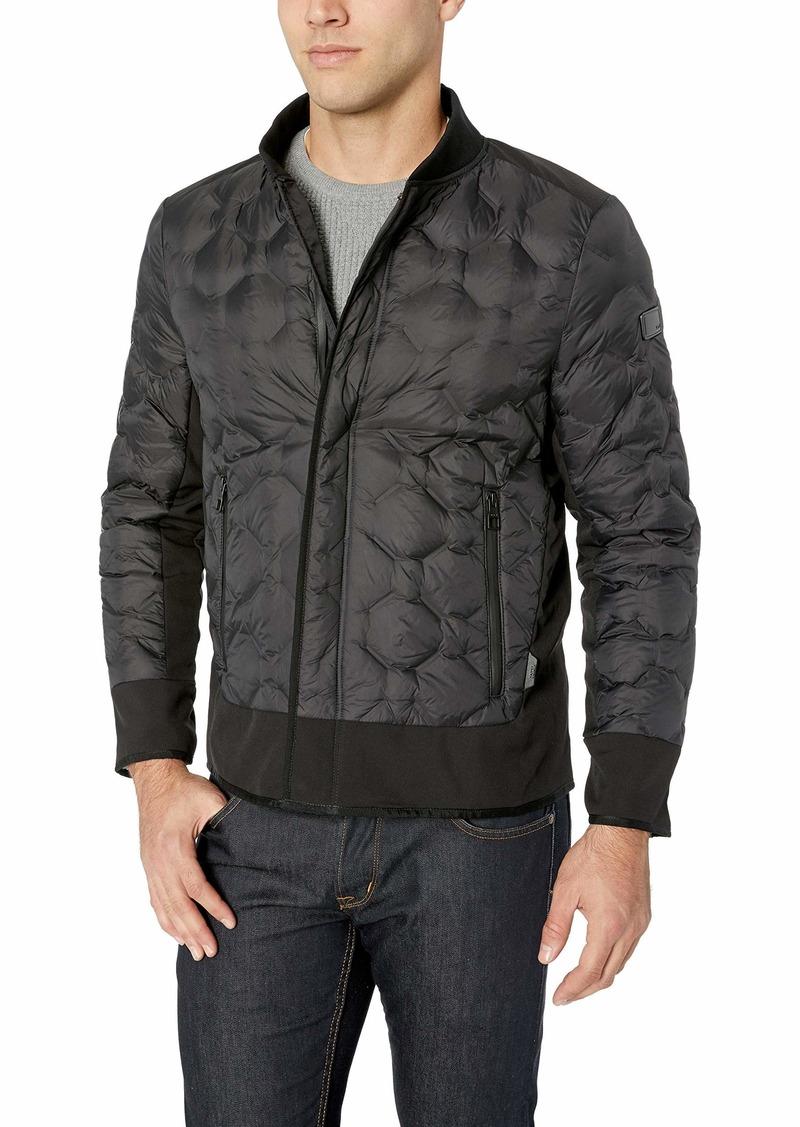 TUMI Men's Geo Quilt Jacket