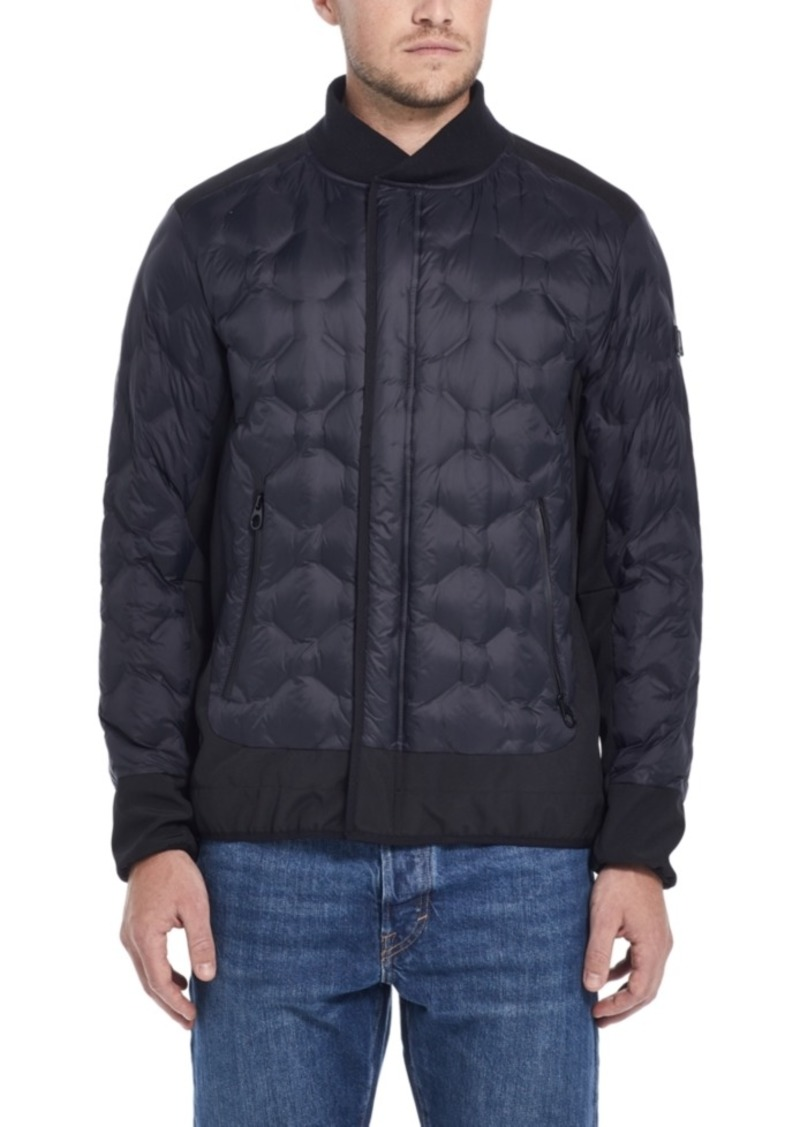 Tumi Men's Geometric Quilted Jacket