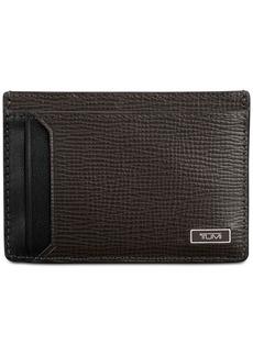 Tumi Men's Leather Money Clip Card Case