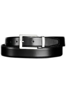 Tumi Men's Polished Buckle Reversible Belt