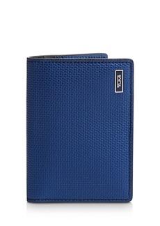 Tumi Monaco Embossed Leather Folding Card Case