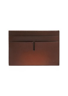 Tumi Nassau Money Clip Leather Card Case