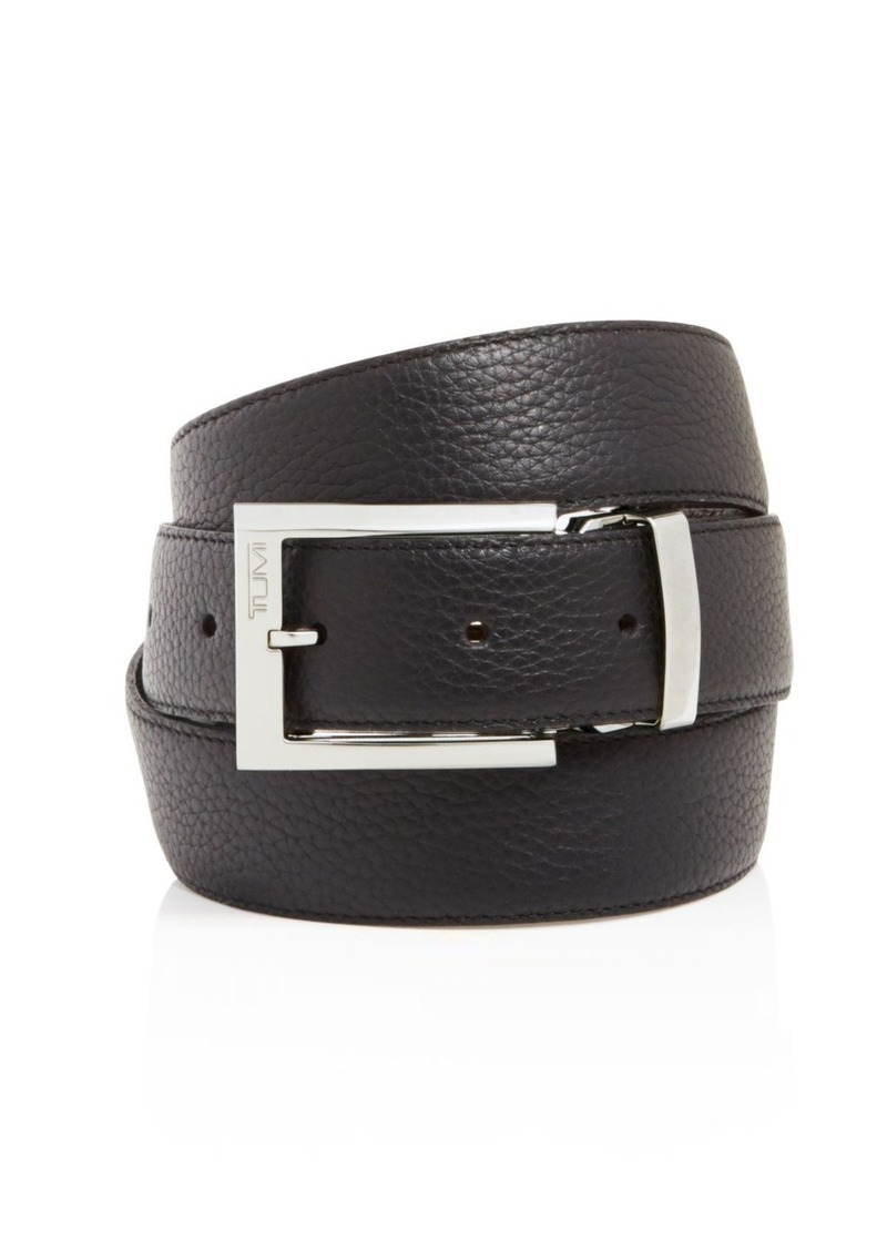 Tumi Pebbled Harness Reversible Belt