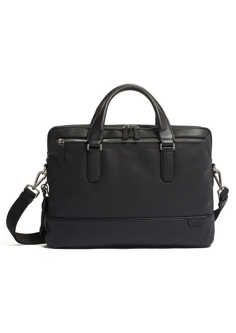 Tumi Sycamore Slim Leather Briefcase