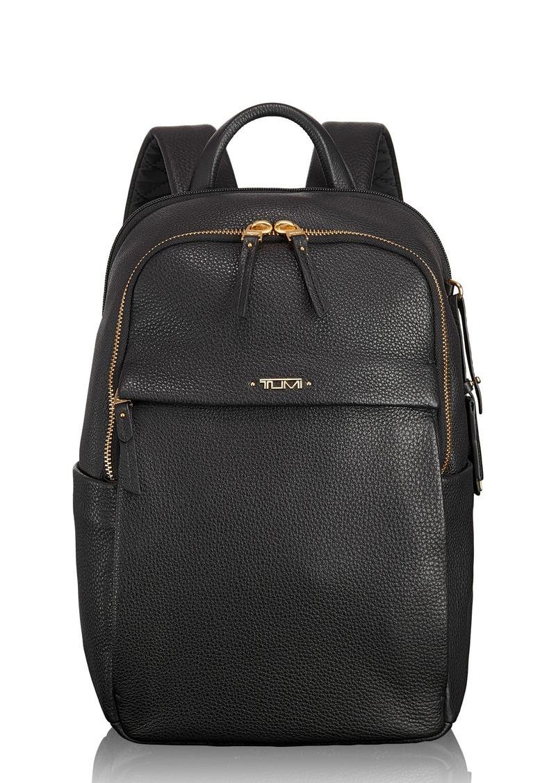 Tumi Tumi Voyageur Small Daniella Leather Backpack