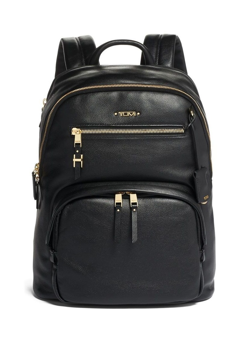 Tumi Voyageur Hilden Leather Backpack