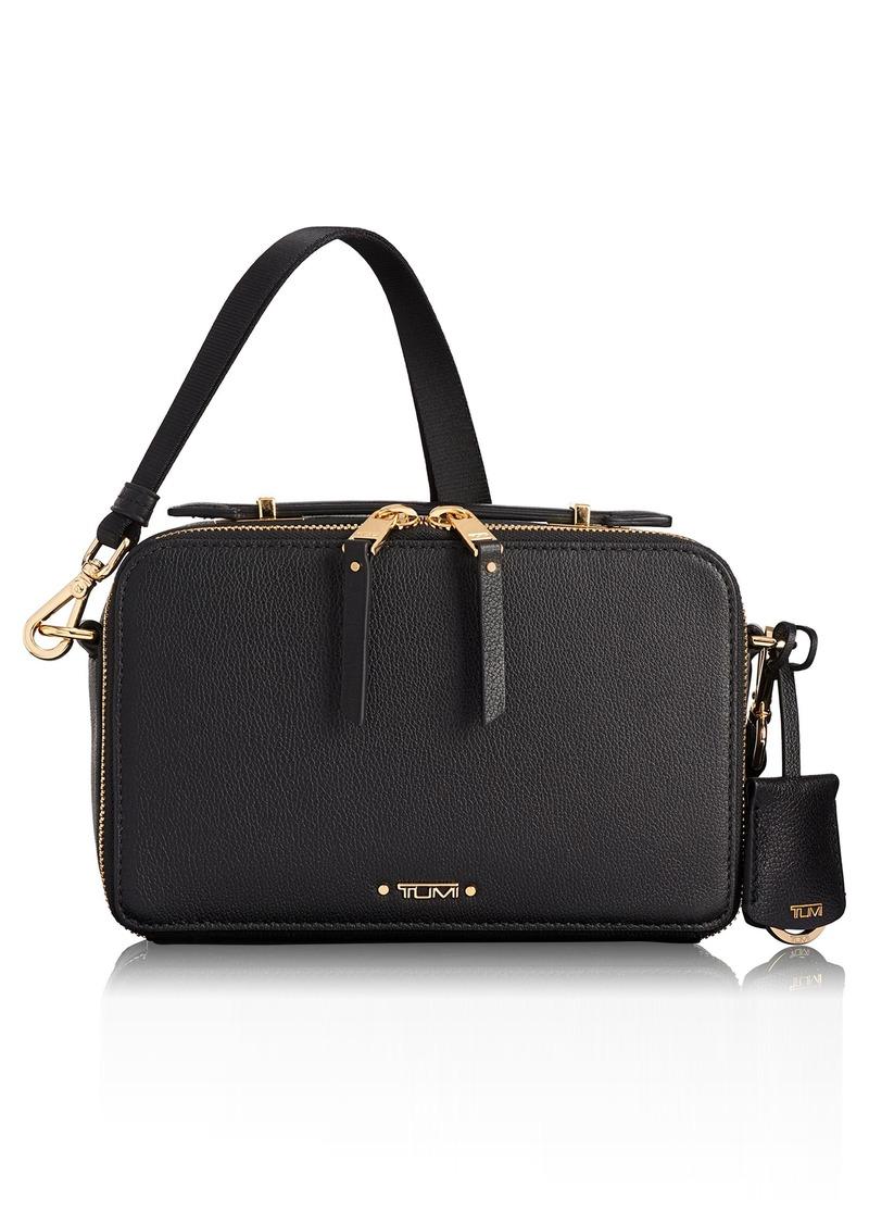 Tumi Voyaguer- Aberdeen Leather Crossbody Bag
