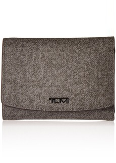 Tumi Women's Sinclair Tri-Fold Wallet Travel Purse