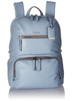 Tumi Women's Voyageur Leather Halle Backpack Light Blue