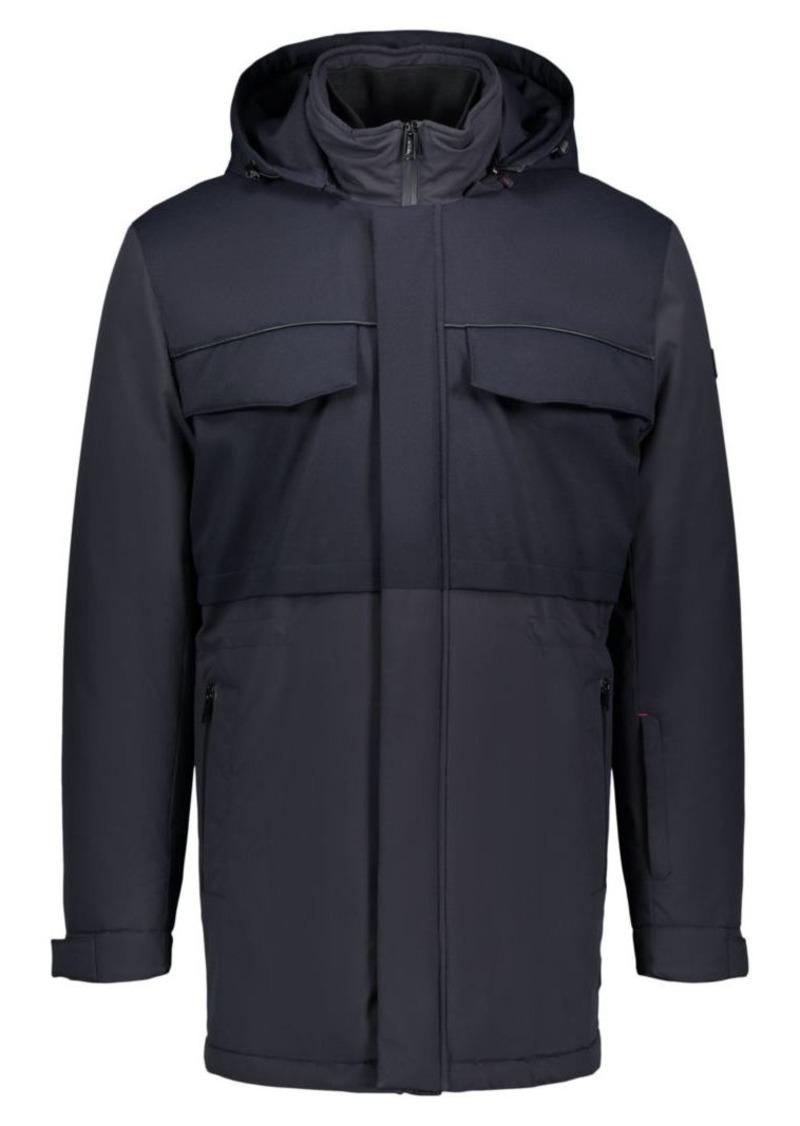 Tumi Woven Three-Layer Coat