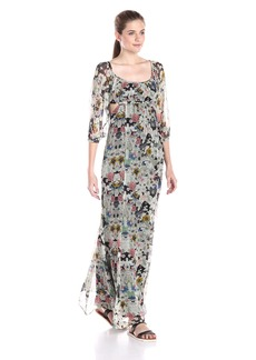 Twelfth Street by Cynthia Vincent Women's Cutout Boho Maxi Dress