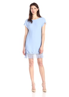 Twelfth Street by Cynthia Vincent Women's Fringe Shift Dress