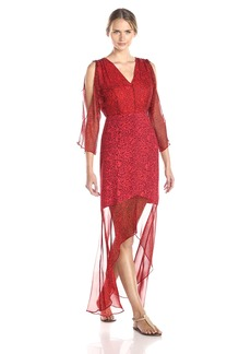 Twelfth Street by Cynthia Vincent Women's Gypset Printed Maxi Dress