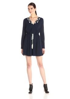 Twelfth Street by Cynthia Vincent Women's Pleated Shirt Dress