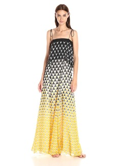 Twelfth Street by Cynthia Vincent Women's Ruffled Maxi Dress
