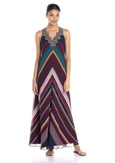 Twelfth Street by Cynthia Vincent Women's Ziggurat Maxi Dress