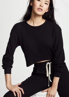 Twenty Tees Everest Thermal Cropped Pullover