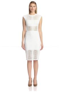 Twenty Tees Women's Boa Perforated Dress  L