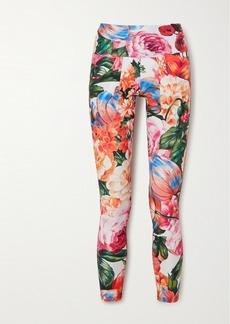 Twin Fantasy Floral-print Stretch Leggings