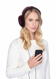 UGG All Weather Water Resistant Sheepskin Earmuff with Tech Option