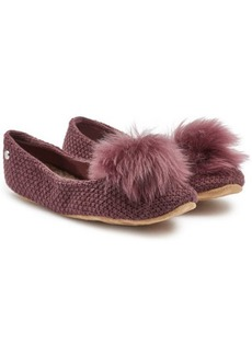 UGG Andi Slippers with Sheepskin and Leather