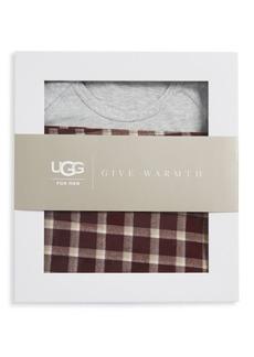 UGG Australia Cotton Top and Plaid Pants