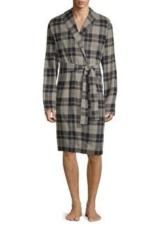 UGG Australia Jon Plaid Cotton Robe