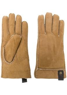 UGG Australia leather trim gloves