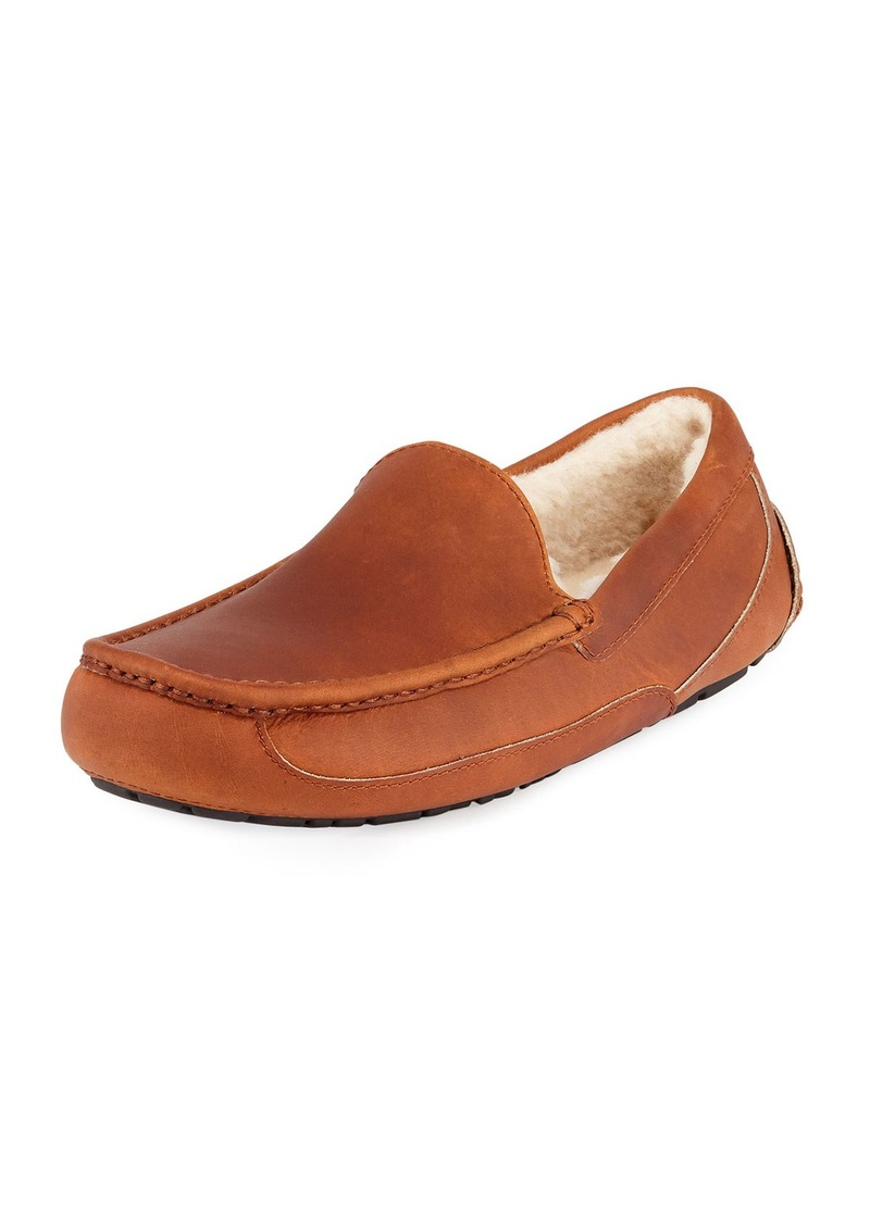 b5148d57632 Men's Ascot Pinnacle Horween Leather Slippers