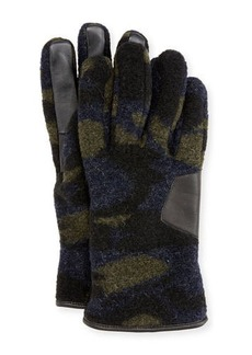 UGG Australia Men's Fuzzy Knit Smart Gloves