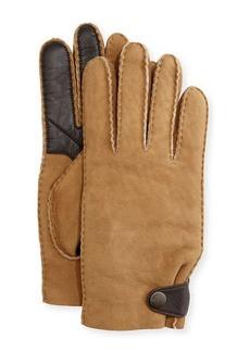 UGG Australia Men's Suede & Leather Smart Gloves