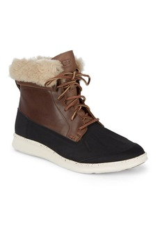 UGG Australia UGG Fillmore Roskoe Leather & Suede Wool Lined Boots