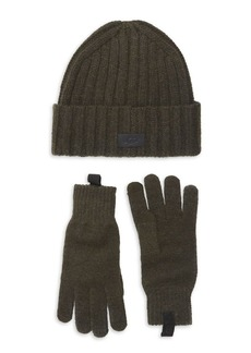 Ugg Men's Knit Beanie and Gloves