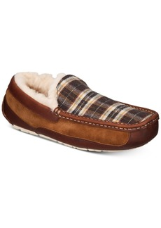 Ugg Men's Ascot Plaid Holiday Slippers Men's Shoes