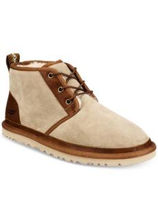 UGG Australia Ugg Men's Neumel Leather Trim Chukka Boot Men's Shoes