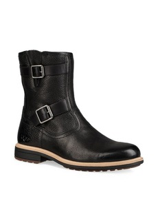 UGG Australia Ugg Motorcycle Leather & Shearling-Lined Boots