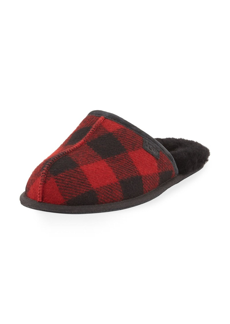 b4be5ab50 UGG UGG Men's Scuff Buffalo Plaid Slipper | Shoes